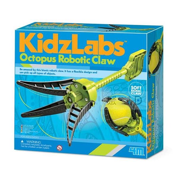 【4M】03434 趣味科學-機械章魚爪 Octopus Robotic Claw