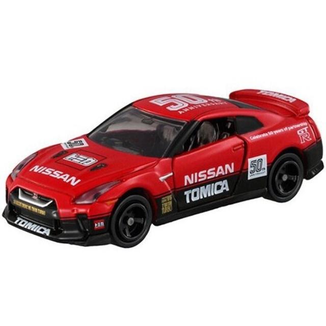 小禮堂 TOMICA多美小汽車 Nissan GT 50週年賽車 紀念跑車 (紅)