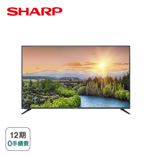 【SHARP】50型4K HDR Android TV顯示器(4T-C50BJ3T)