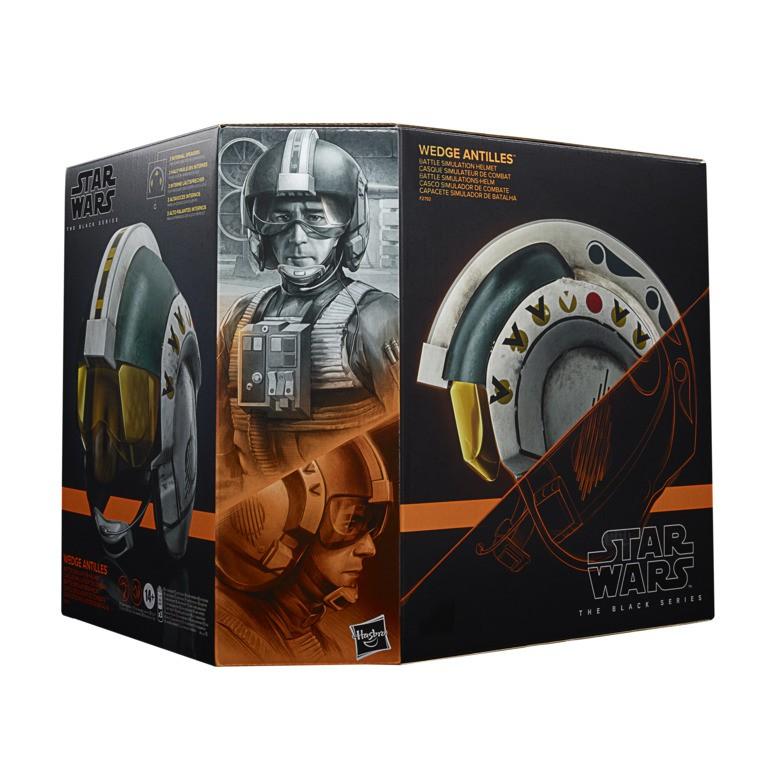 【孩之寶Hasbro】星際大戰盧卡斯50週年黑標收藏頭盔- WEDGE ANTILES F27925E00