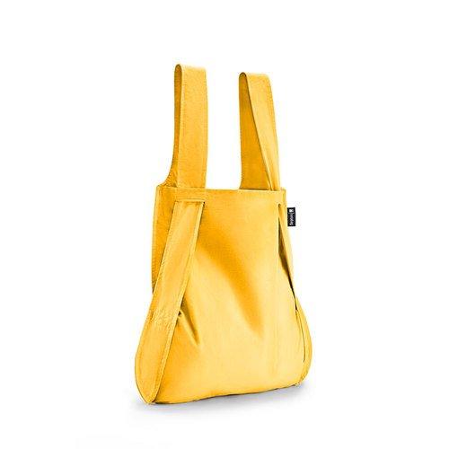 德國 Notabag 三用後背包/購物袋/手提袋/肩背袋 - 金黃