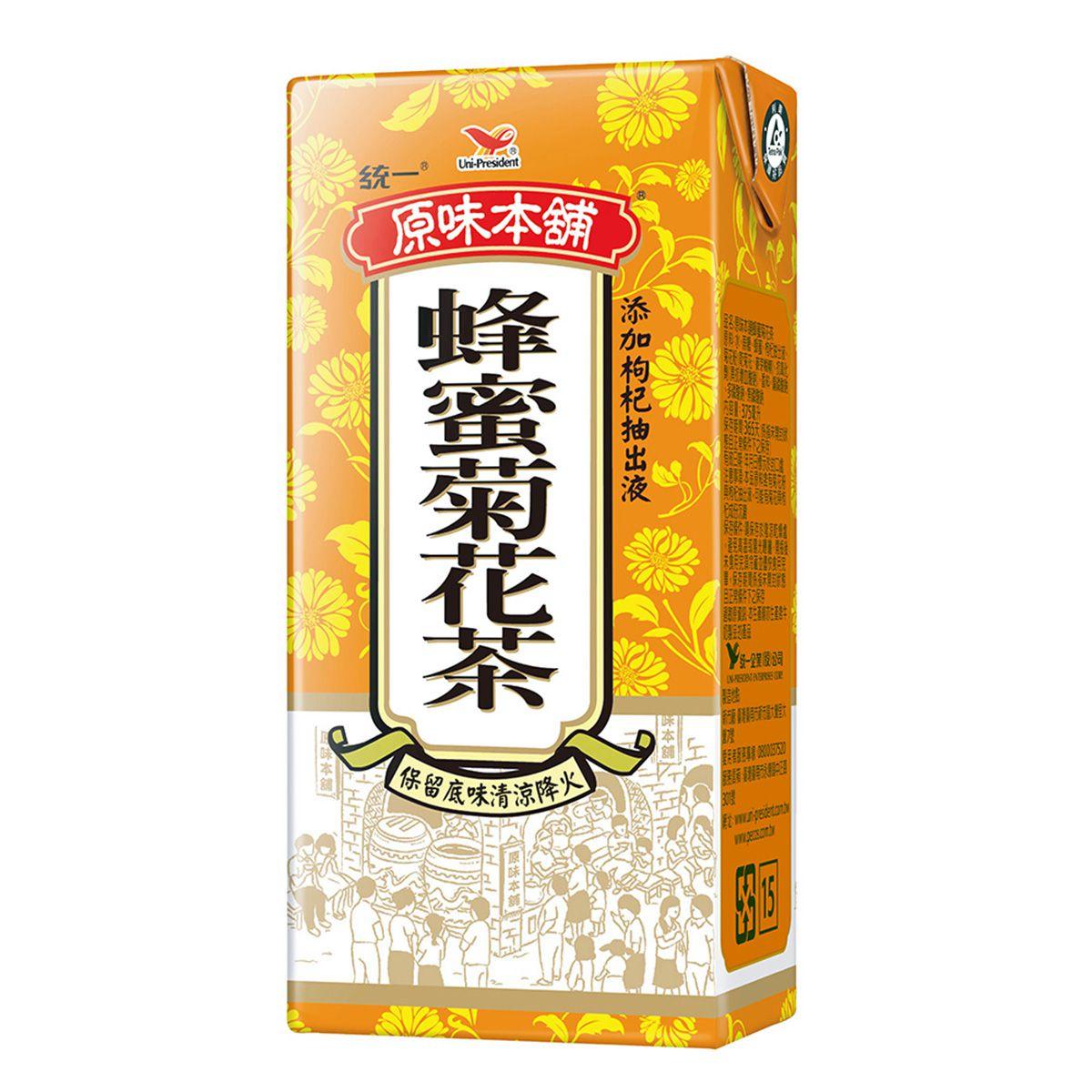 點數15%★食品飲料滿千–原味本舖蜂蜜菊花茶TP375*團購*24入【康是美】
