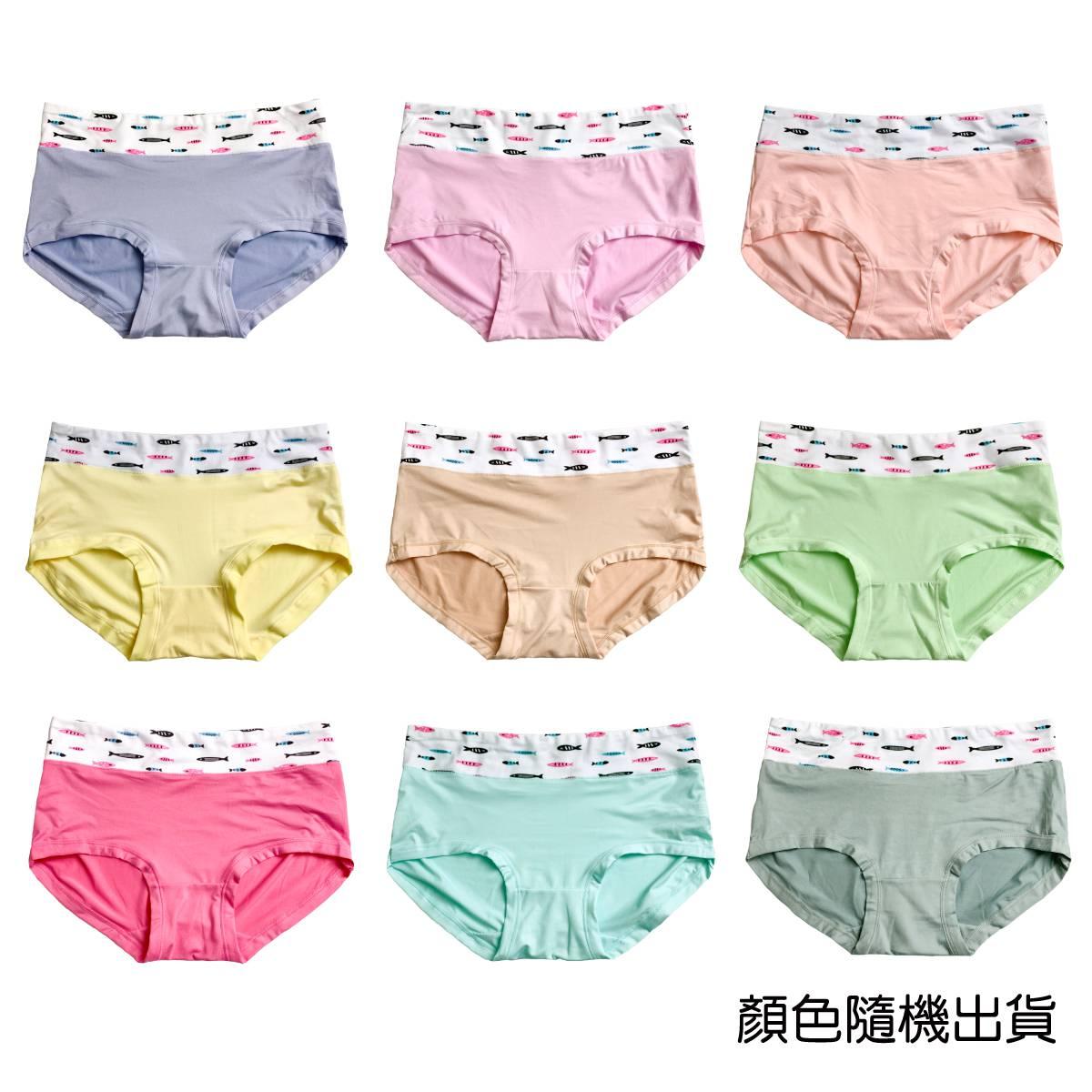 【吉妮儂來】舒適女內褲3101 F均碼(顏色隨機出貨)