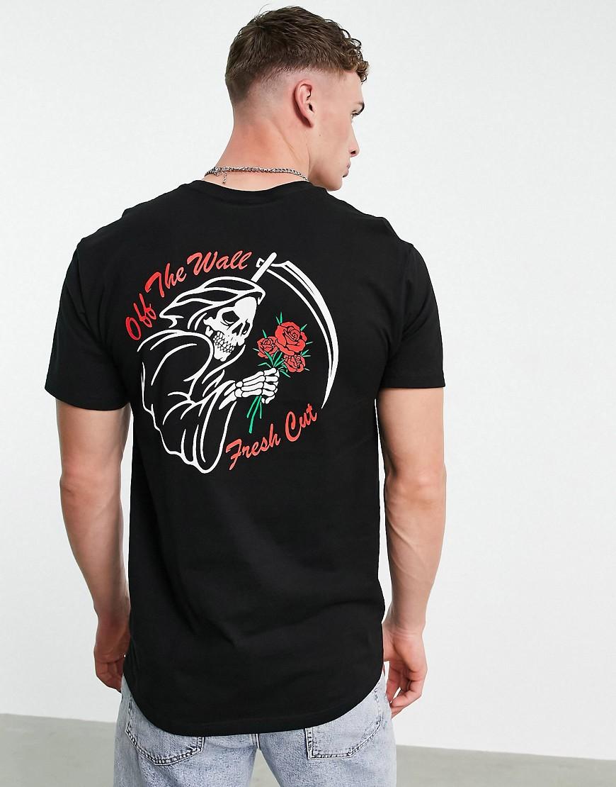 Vans Fresh Cuts back print t-shirt in black