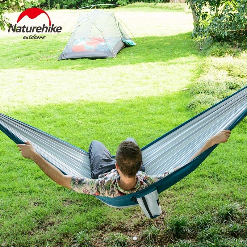 Naturehike 挪客NH 單人雙人吊床 戶外露營鞦韆 公園周末休閒吊床