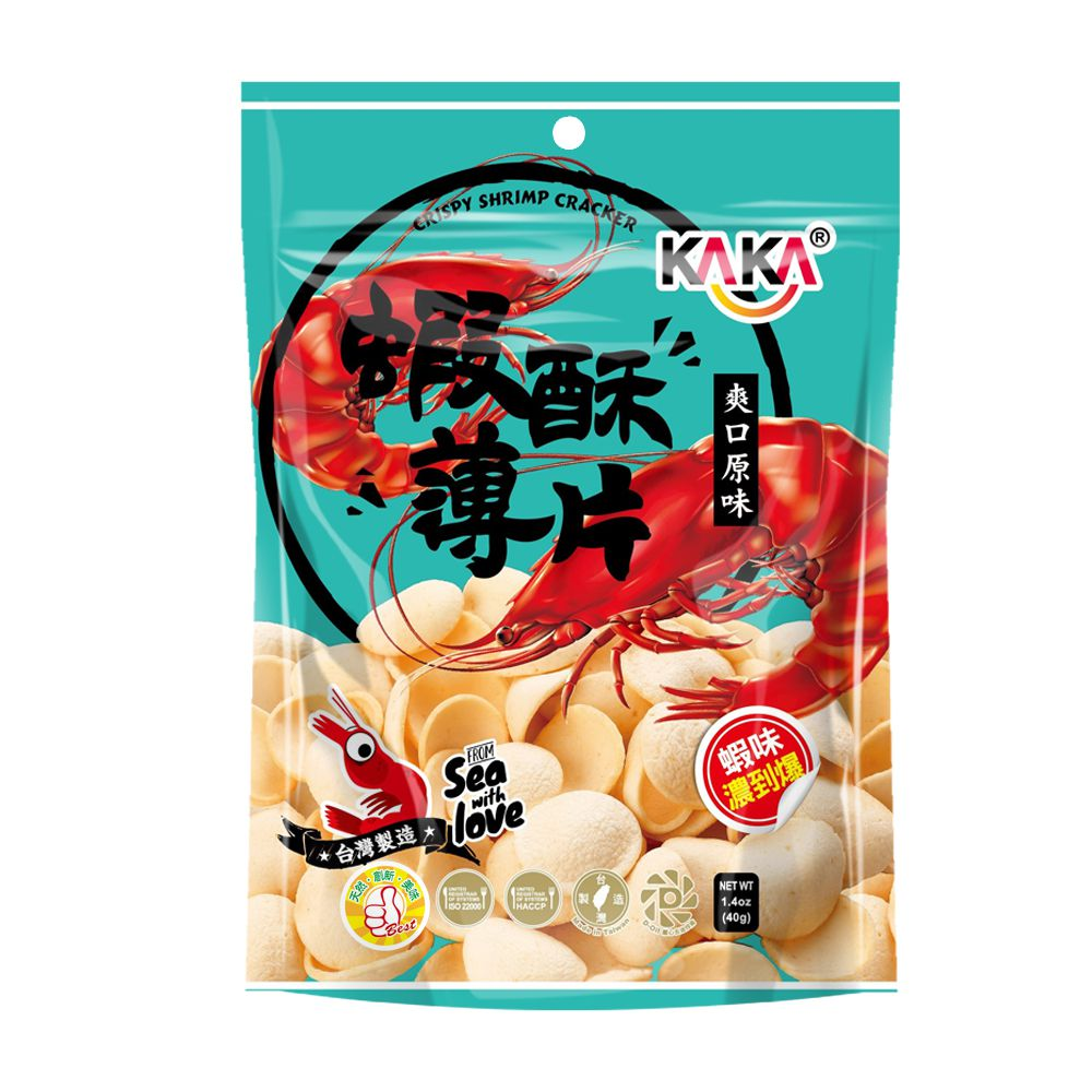KAKA蝦酥薄片(爽口原味)