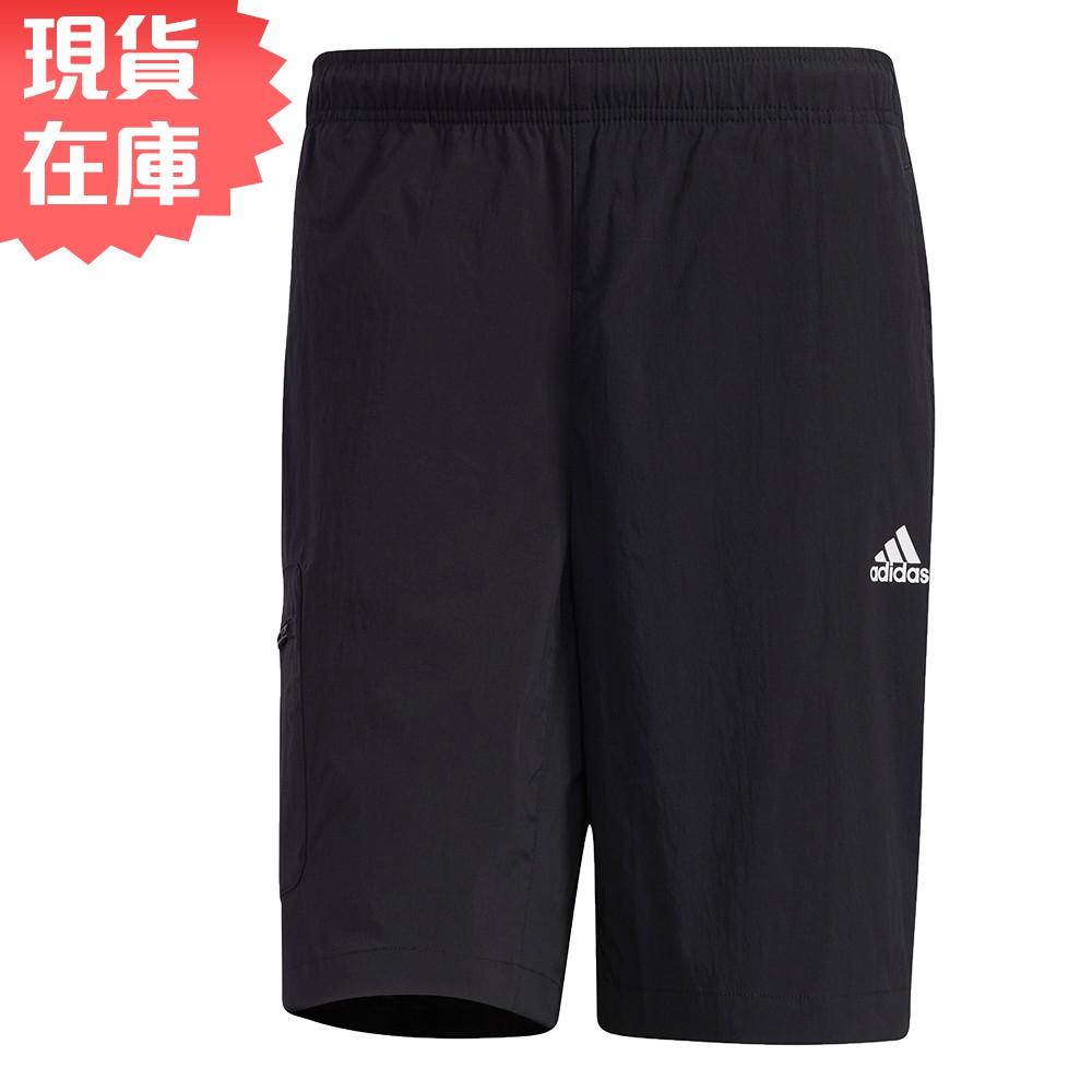 ADIDAS FUTURE 男裝 短褲 慢跑 訓練 口袋 黑【運動世界】GP0945