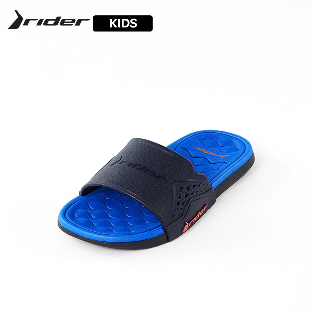 Rider [KIDS] ATHLETIC機能核芯一字拖 童鞋 藍(RI8274320729)