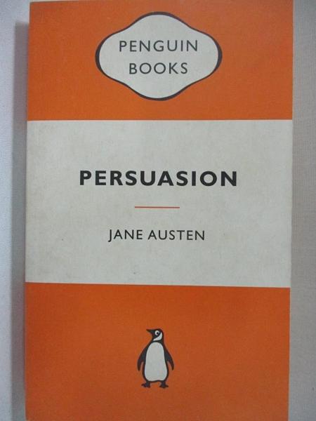 【書寶二手書T7/原文小說_C1W】Persuasion_Jane Austen, Jane