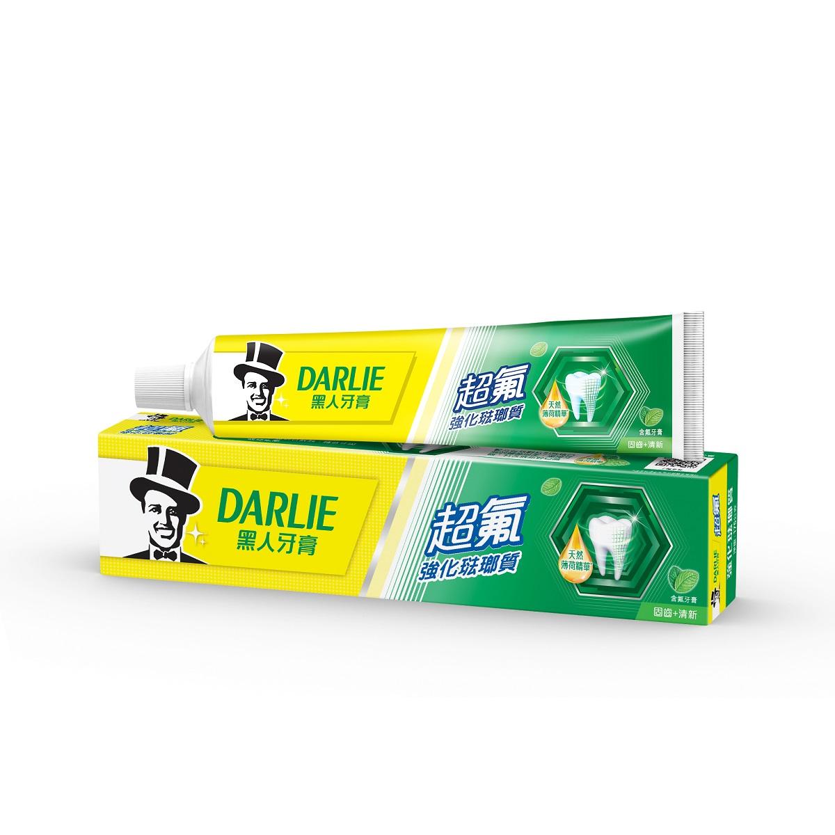 黑人超氟強化琺瑯質牙膏175g