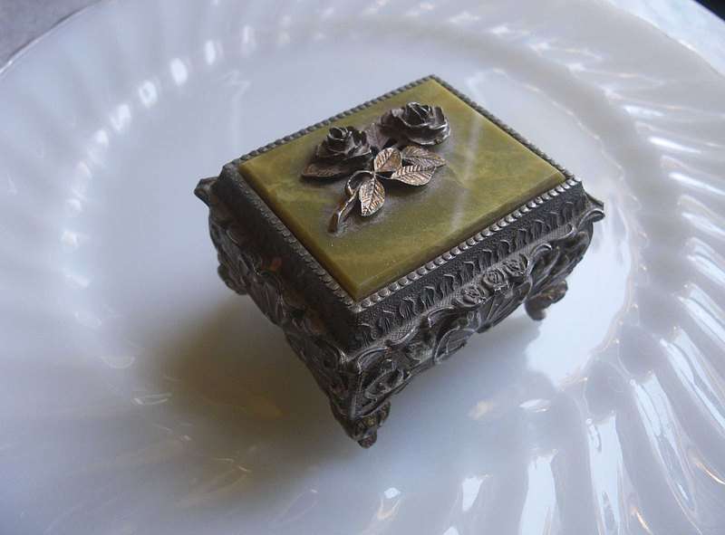 【老時光 OLD-TIME】早期日本製音樂珠寶盒