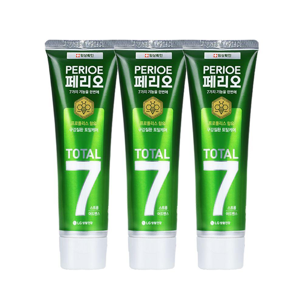 倍麗兒 7效蜂膠牙膏-沁涼綠120gx3