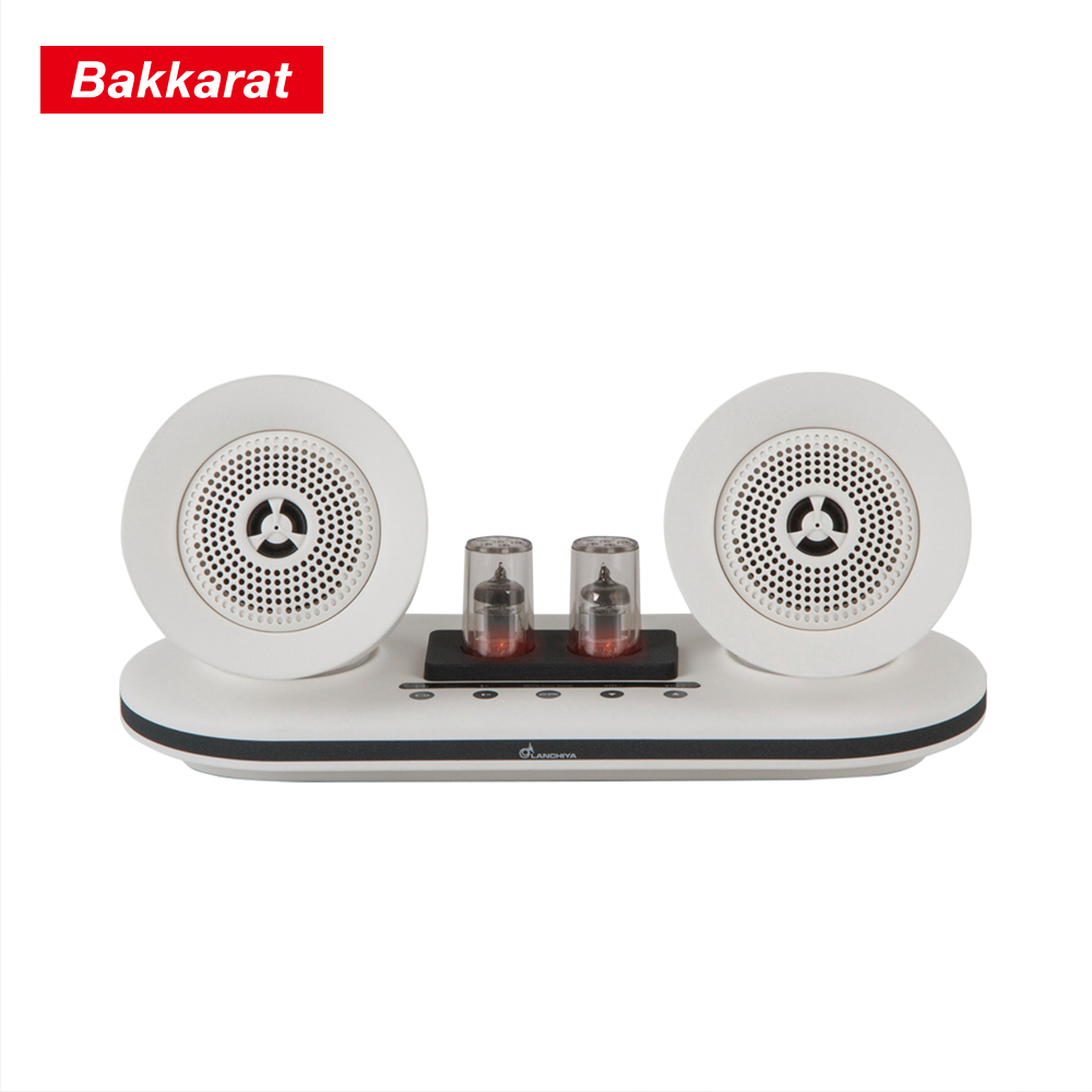 BAKKARAT電子真空管音域喇叭-白BK-M35