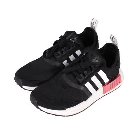 ADIDAS 女 NMD_R1 W 針織襪套慢跑鞋 黑玫瑰金 - FY3771
