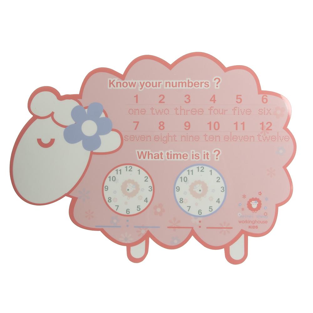 小花綿羊KIDS繪圖學習板(附白板筆)