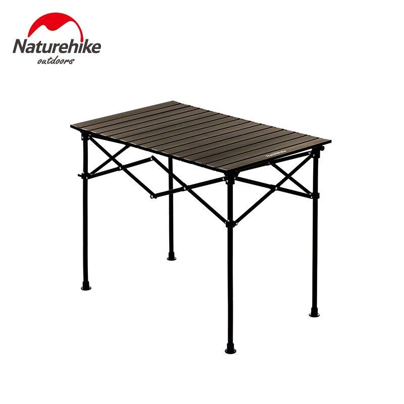 Naturehike挪客NH輕便戶外鋁合金桌 可拆卸桌腿升降桌 折疊桌野餐桌便攜小桌子