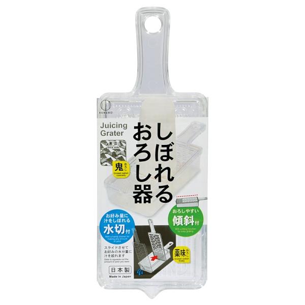 asdfkitty*小久保工業所 可瀝水透明磨泥器-日本製