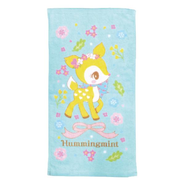 哈妮鹿花彩童巾