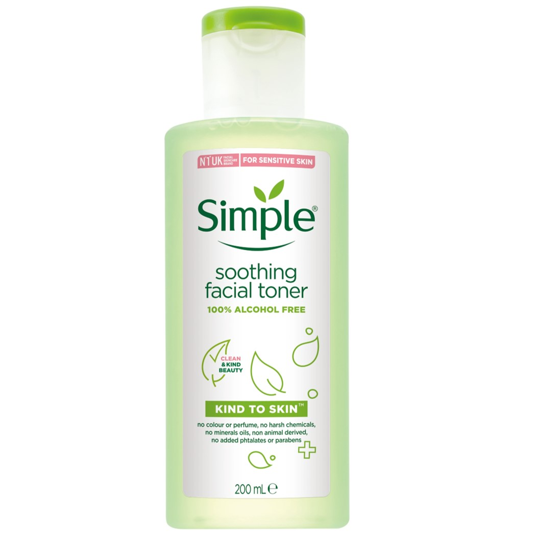 Simple清妍親膚舒緩保濕化妝水 200ML