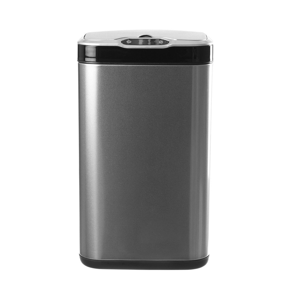 ELPHECO不鏽鋼除臭感應垃圾桶20L-銀色