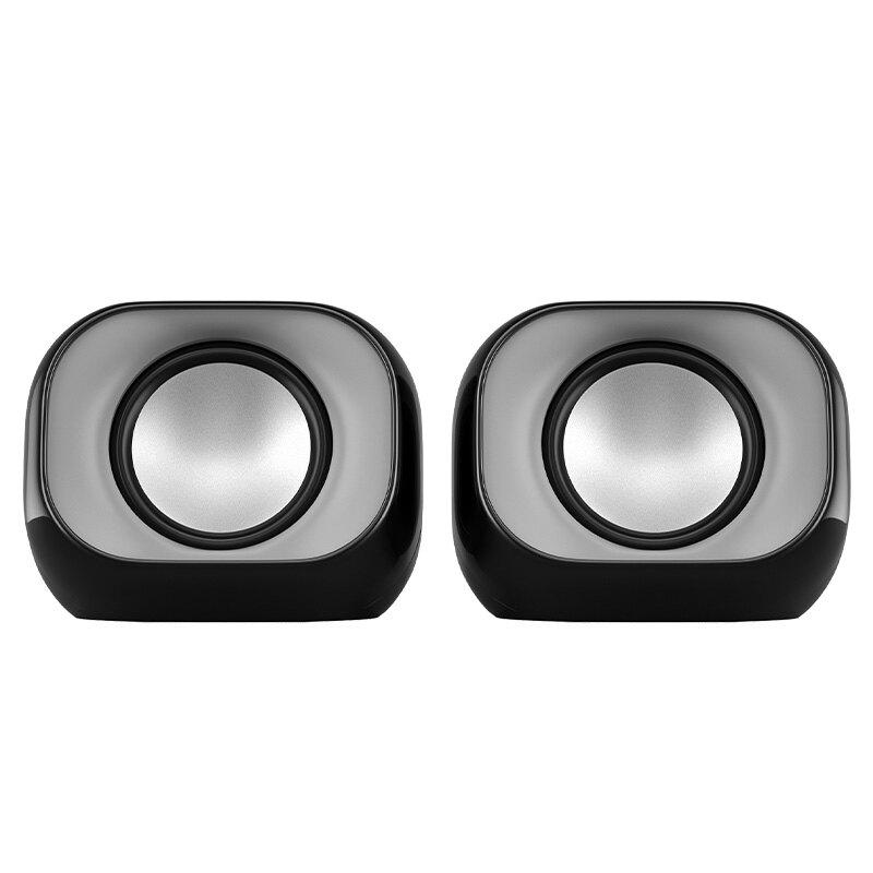 HP/惠普音響電腦音響臺式機筆記本家用有線小音箱低音炮USB迷你小型喇叭桌面揚聲器有源多媒體影響手機高音質 1愛尚優品