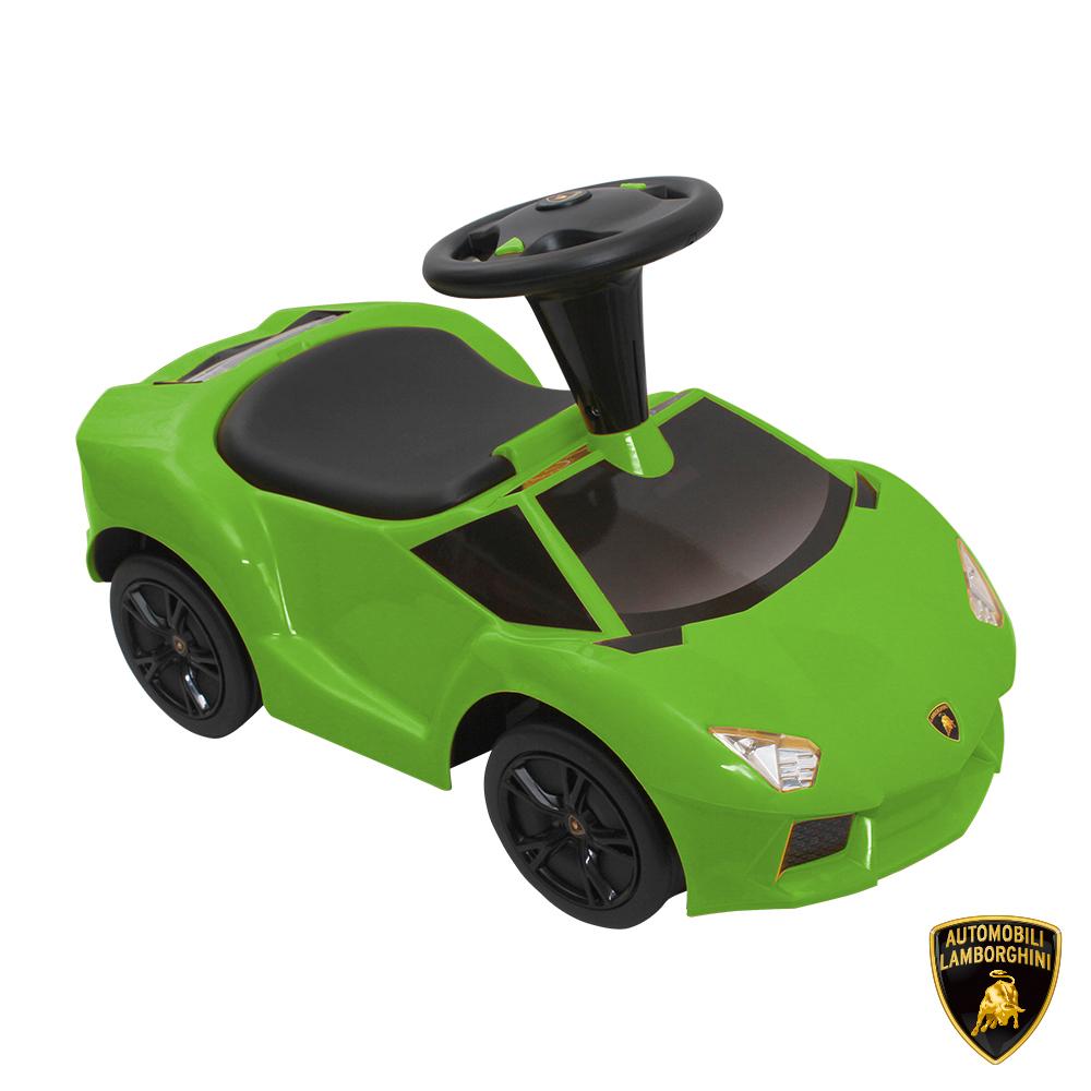 *【Lamborghini藍寶堅尼】兒童滑行車-綠