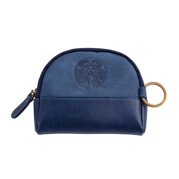 星巴克女神零錢包-藍