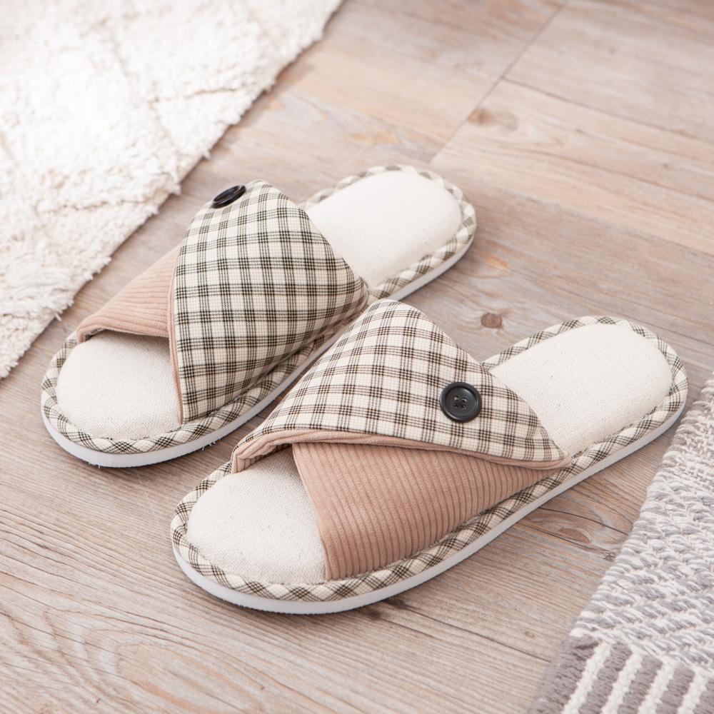 格外幸福拖鞋-奶茶棕L
