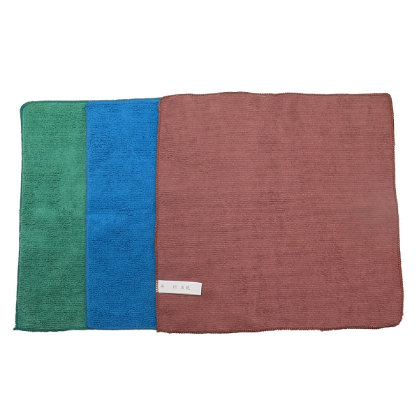 [奇奇文具]好神巾 30X30cm多功能吸水擦拭巾(藍色/綠色/棕色)顏色隨機出貨 10條