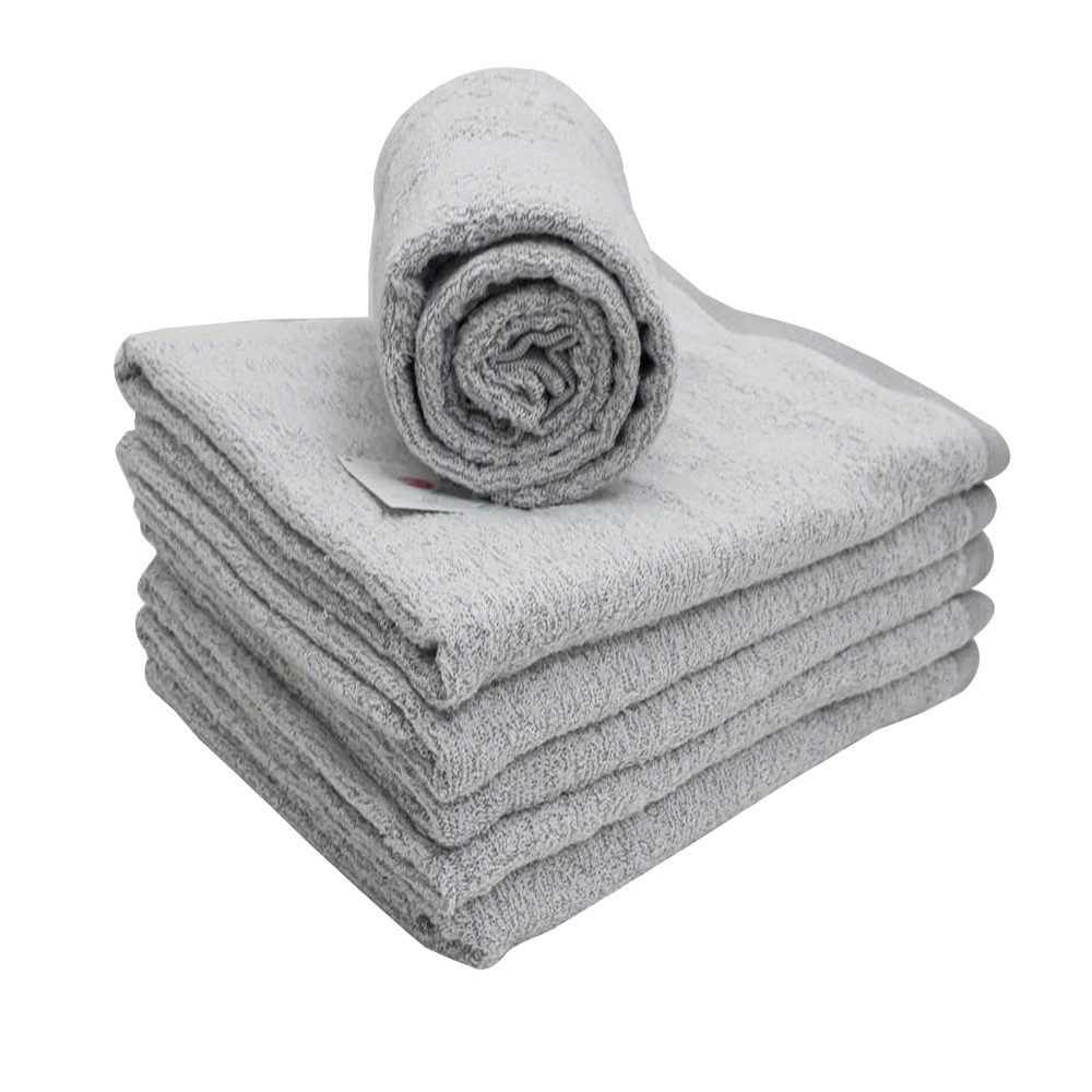 MORINO竹炭紗浴巾