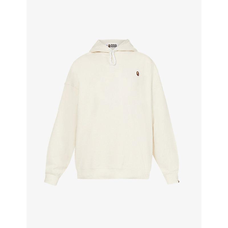 Logo-applique cotton-jersey hoody