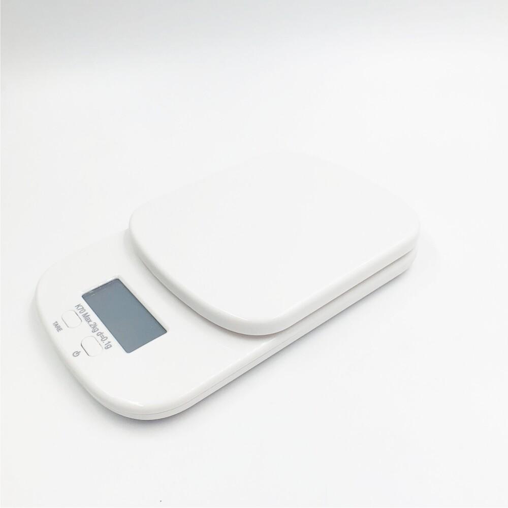 高精度迷你廚房料理烘培秤/染髮染膏秤 2kg/0.1g