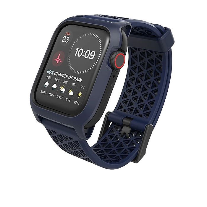 CATALYST APPLE WATCH S6/S5/S4/SE   44mm 耐衝擊防摔保護殼(含錶帶)-藍色