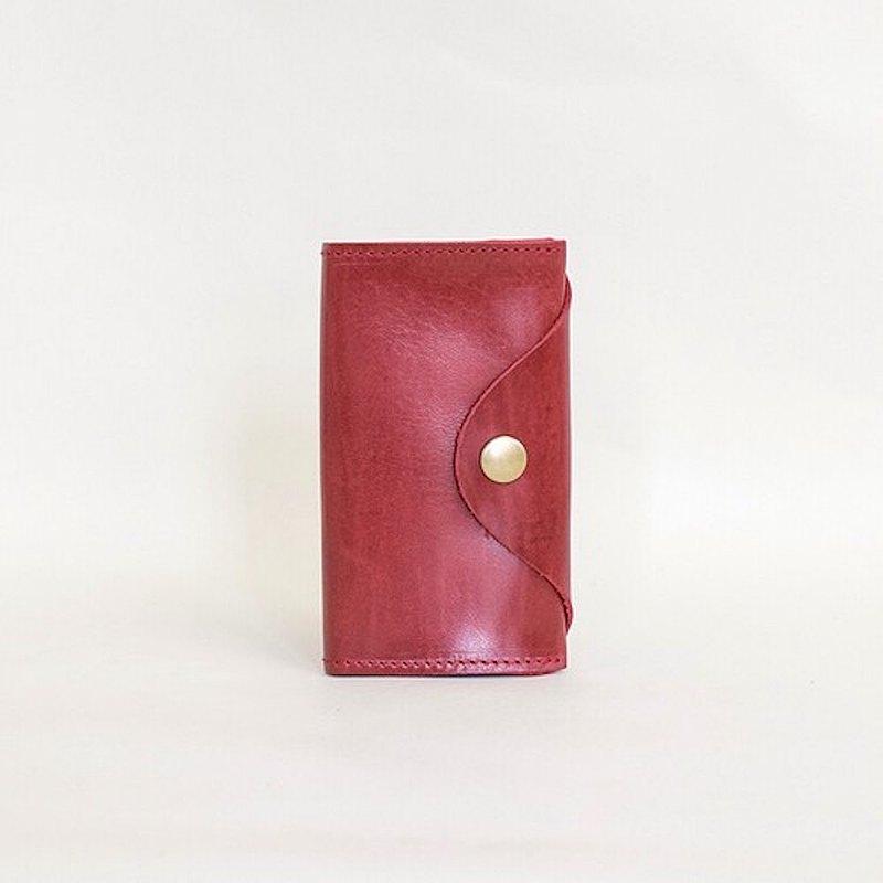 國產馬皮革Bueburo皮革名片夾真皮名片盒日本製造[Win] JAK001