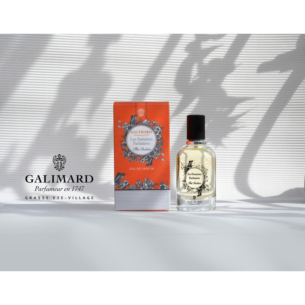 法國嘉莉瑪Galimard香氛之泉淡香精-Thé Indien 印度白茶[無憂而寧靜的清香,浪漫而唯美的體驗]