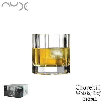 NUDE Churcill Whisky Dof 教堂水晶威士忌杯 310mL 水晶杯 威杯 威士忌杯 酒杯  4入盒裝