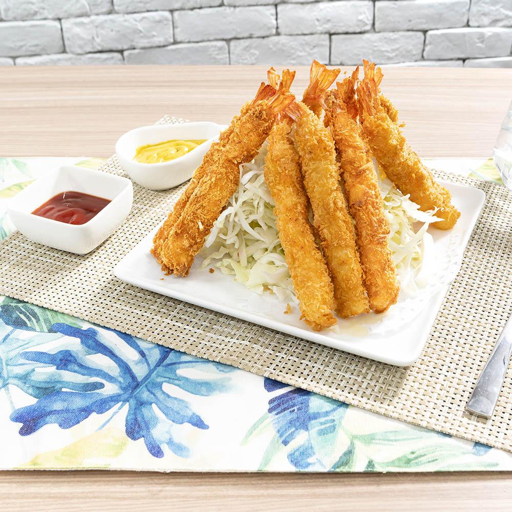 *鮮食市集黃金炸蝦10尾