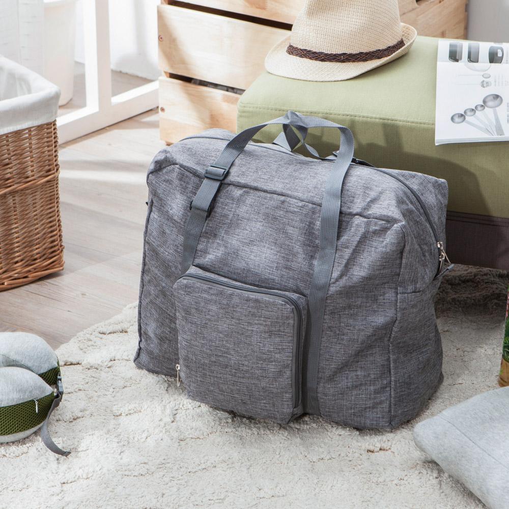 Gray生活旅記手提行李袋