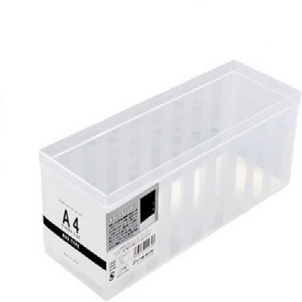 日本製A4透明文件收納盒