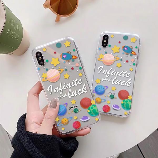 彩色星球 適用 iPhone12Pro 11 Max Mini Xr X Xs 7 8 plus 蘋果手機殼 01