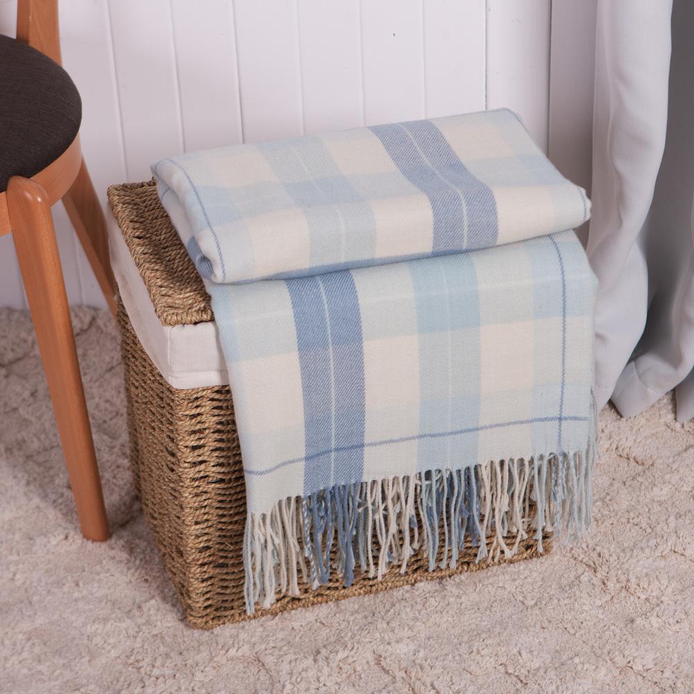 海水藍舒柔蓋毯150*180
