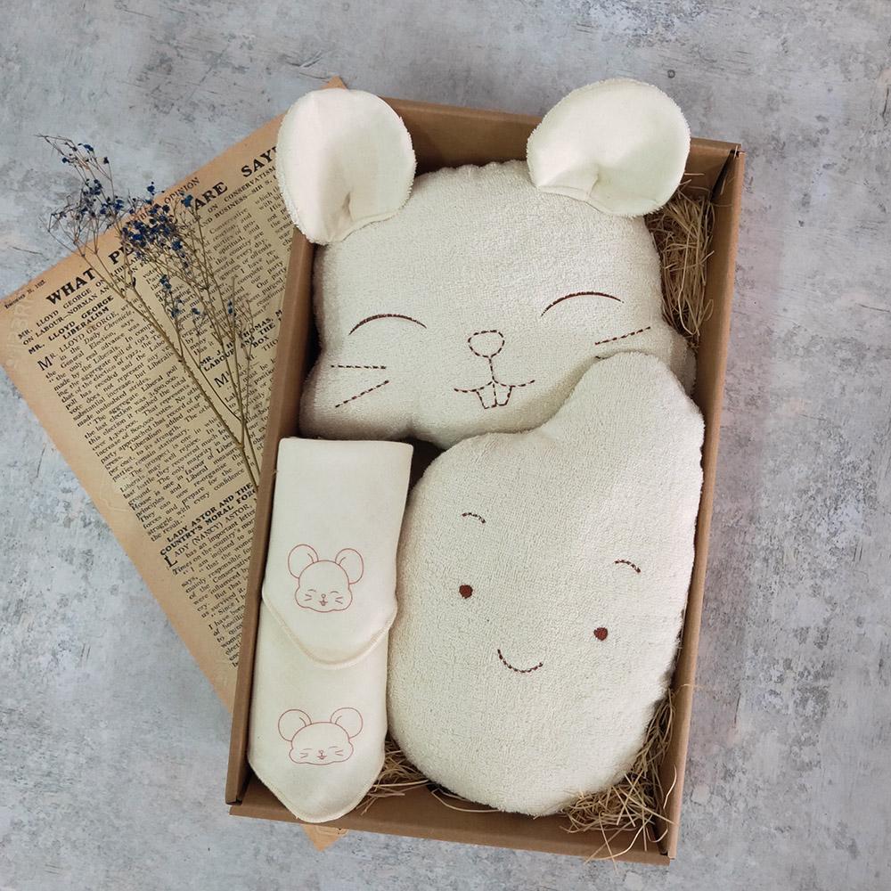 *老鼠愛大米四件組禮盒