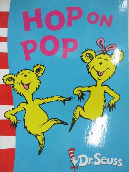 【書寶二手書T1/電玩攻略_E15】Dr. Seuss Blue Back Book: Hop On Pop_Dr. Seuss