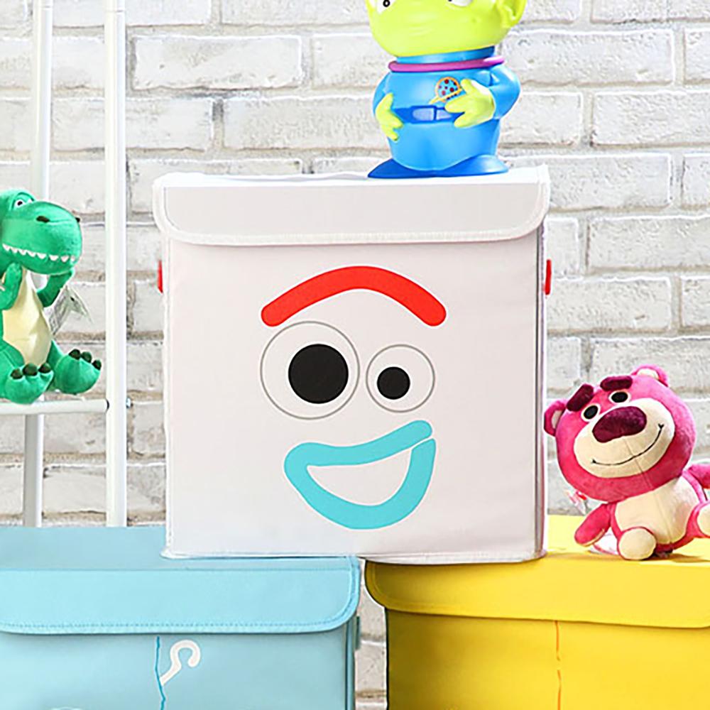 *玩具總動員方形收納箱(叉奇)