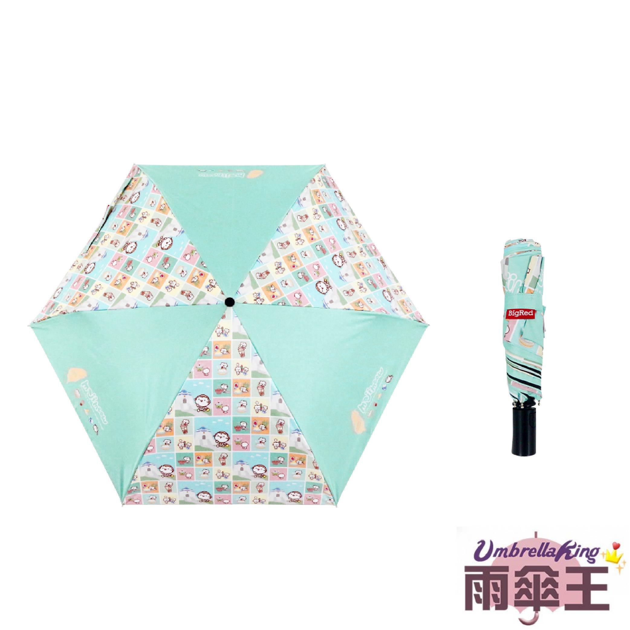 【雨傘王 x 麻吉貓】涼感遮陽傘-愛台灣