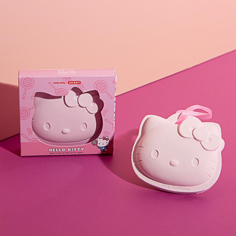 Hello Kitty造型香氛片-羽球