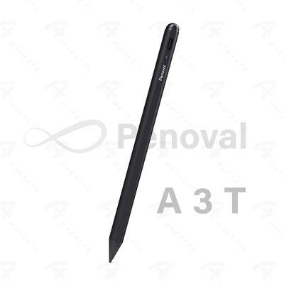 【Penoval Pencil A3t】傾斜度感應磁力吸附防誤觸二代觸控筆