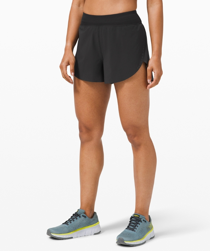 "Lululemon Women's Find Your Pace Short 3"" Lined, Black Size 10"
