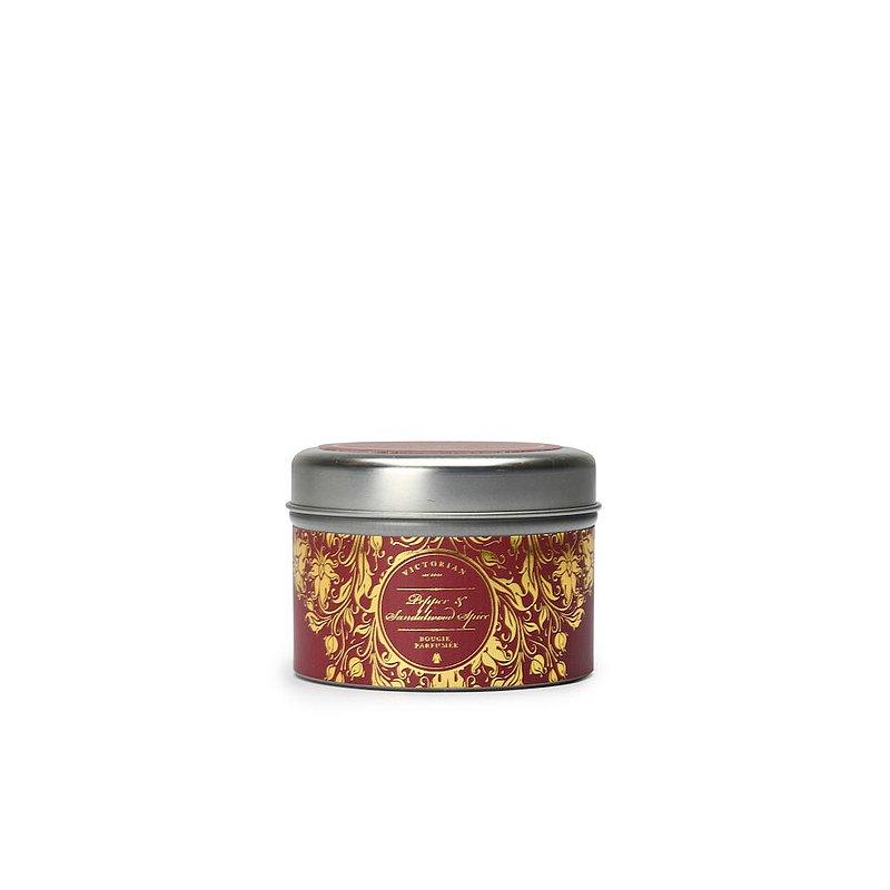【瑞典VICTORIAN】感官Pepper 錫盒蠟燭 胡椒與檀香