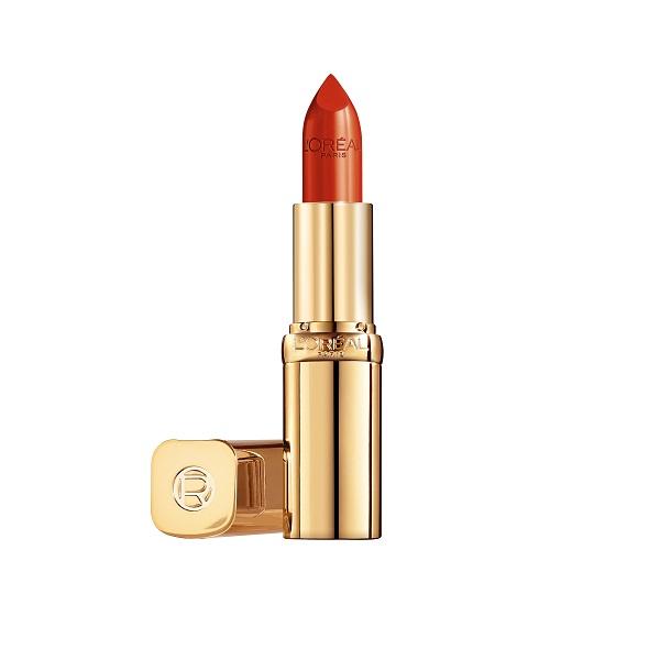 LOREAL PARIS萊雅極緻純色訂製唇膏635 微醺血橙